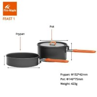 Alat Masak Nasting FIRE MAPLE FEAST 1 Cooking set Camping Outdoor