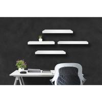 Rak Dinding Floating Shelves Minimalis 4 pcs uk. 40, 60, 60, 60 cm