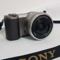 KAMERA CAMERA MIRROR LESS SONY ALPHA A5100 SECOND