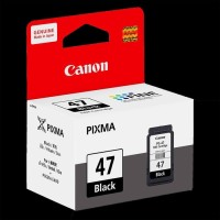 Tinta Catridge Canon pixma PG 47 Black Original for :E400,E460