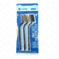 Wire Brush Set 3 in 1 Nylon Brass Stainless Steel SS-046