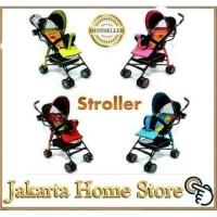 Stroller Labeille Rocky dorongan bayi