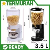 Cereal Dispenser Cyprus Sereal snack kacang biji kopi makanan kering