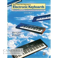 Alfred's Basic Chord Approach to Electronic Keyboard Leeson Book 1