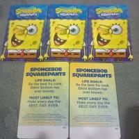 Spongebob / kartu timezone spongebob bisa ditukar max 3000 tiket
