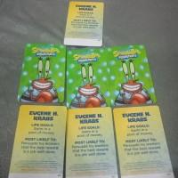mr eugene krabs / kartu timezone spongebob bisa ditukar max 3000 tiket