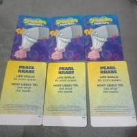 pearl krabs / kartu timezone spongebob bisa ditukar max 3000 tiket