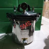 Autoclave Portable SS GEA YX18LM 18 Liter/YX 18 LM Steam Steril