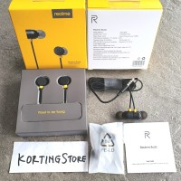 Headset Realme Buds In-Ear Earphone Handsfree Magnetic Original RMA101