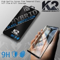 [TEMPERED GLASS 5D] warna K2 Premium Quality XIAOMI REDMI 6 PRO,MI 8