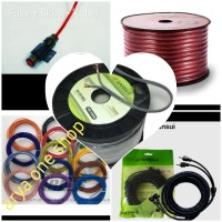 KABEL-PAKET FULL SET UNTUK AUDIO MOBIL-high quality-arya one.shop