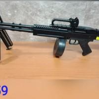 M156 Premium Mainan Spring Kokang Senapan M60VN AEG Airsoft Sniper