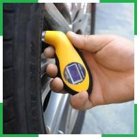 SYStore2 Pengukur Tekanan Ban Mobil Digital Tire Gauge LCD Barometers
