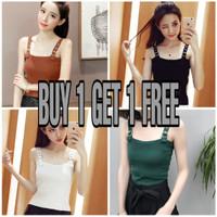 Tank Top Wanita 4 Pilihan Warna | Buy 1 Get 1 Free