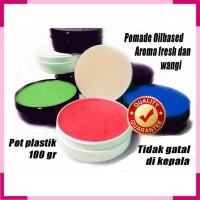 PROMO pomade oilbased non label pot plastik