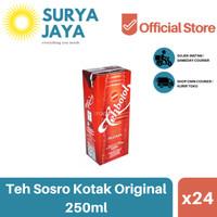 Distributor Teh Botol Kotak Sosro 250ml (Isi 24 pcs) -Teh Kotak