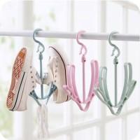 Hanger Sepatu / Gantungan Jemuran Sepatu & Kaos Kaki Serbaguna HNSP-01