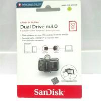 OTG Dual USB SanDisk 32GB USB 3.0 SDDD3 Android Smartphone ORIGINAL