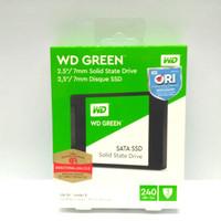SSD Internal WD Green 240GB Sata PC dan Laptop ORIGINAL GARANSI RESMI