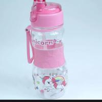botol minum anak bpa free karakter,unicorn,kuda poni