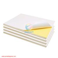 Kertas Stiker Sticker Glossy Chromo Bontax Art Paper A4 Tahan Air IDEO
