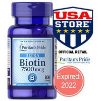 Puritan 's Pride Ultra Biotin 7500 mcg 100 ct