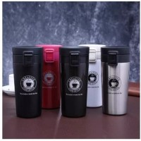 TERMOS KOPI B46 TRAVEL STAINLESS STEEL VACUUM TUMBLER GELAS MUG COFFEE
