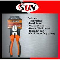 """Tang Potong 6 """" inch Camel"""