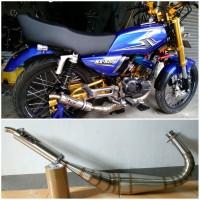 Knalpot Rx King Telo Kobra Stainless TNX Racing Product