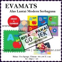 EVAMATS / EVAMAT - PUZZLE LANTAI ABJAD HURUF + GAMBAR