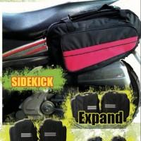 Sidebag motor Side Bag Oval Tas Samping Motor Waterproof Funcover o