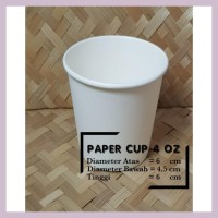 Grosir Paper Cup Coffe Es Cream Polos 4 Oz 120 Ml