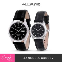 Jam Tangan Couple Alba Original AXND65 & AXU037