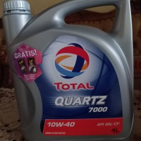 oli total Quartz 10w40