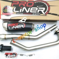 Knalpot Proliner Tr2 Long Carbon Semua Motor 150cc Bol 772