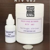 Silicone Rubber RTV 683 470 Gram grab it fast