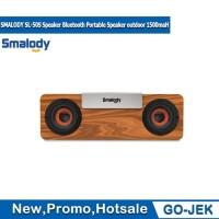 SMALODY SL50S Speaker Bluetooth motif Klasik 1500 mAh