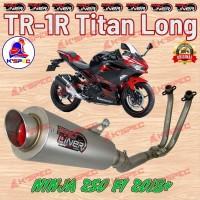 Knalpot ProLiner TR-1R Titan Long NINJA 250 FI 2018 Exhaust Racin