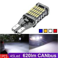 LAMPU LED MUNDUR T15 T10 W16W CANbus 45 LED SUPER BRIGHT ERROR FREE
