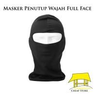 Masker Motor Penutup Kepala Full Face Anti Angin Dingin Balaclava