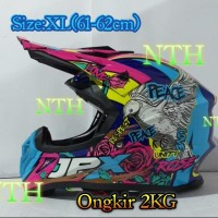 Helm JPX Cross X28 Size XL.Bukan Helm LTD