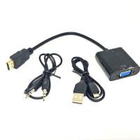 SKU-1136 CONVERTER HDMI TO VGA WITH AUDIO AND POWER / KABEL / KONEKTOR