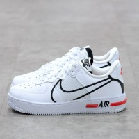 Nike Air Force 1 React Dimsix White 100% Authentic