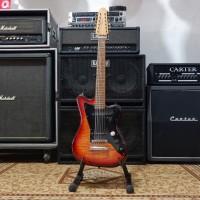 BILLY MUSIK - Gitar Listrik Fender Jaguar 12 String Flamed Top & Back