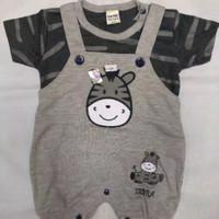 Baju Kaos Kodok Anak Bayi Laki Zebra 3-12 bulan / Jumper Bayi / Kado