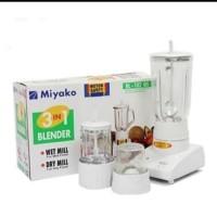 blender miyako kaca BL-102 GS 3 in 1 garansi resmi