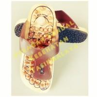 Sandal Terapi Alas Kaki Kayu Jepit, Sandal Refleksi