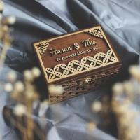 Ring Box Rustic 10x15cm / Kotak Mahar Seserahan / Seserahan Rustic