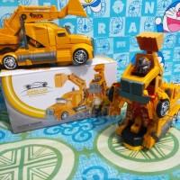 Mainan Super Car Deformation Truck Bego jadi robot Otomatis