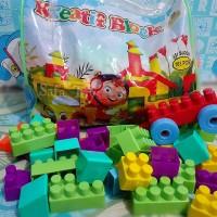 Mainan Kreatif Block Isi 163Pcs   mainan edukasi anak anak
